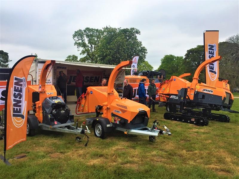 Arb Show success once again for Jensen woodchippers