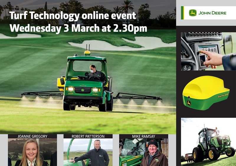 John Deere supports the GMA's first ever #GroundsWeek