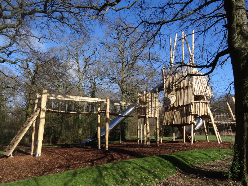 Bespoke playscapes for Watford