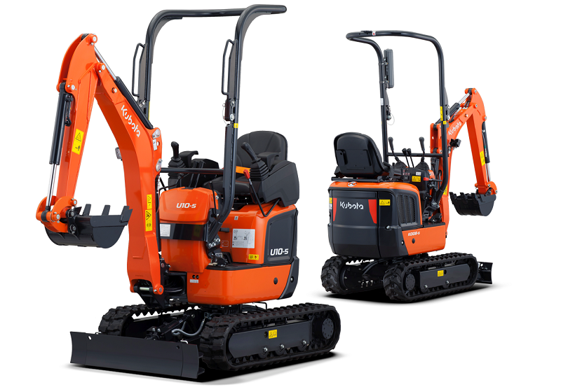 Kubota launches new and improved micro excavators