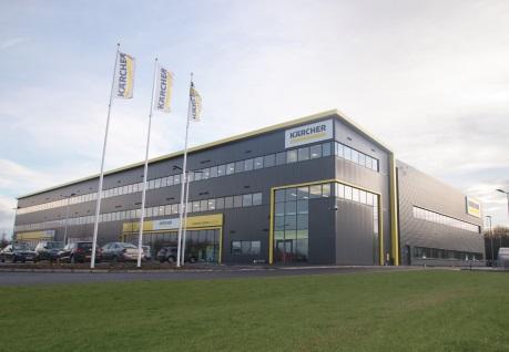 Kärcher UK celebrates new home