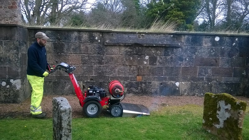 Gravel path renovation from Kersten