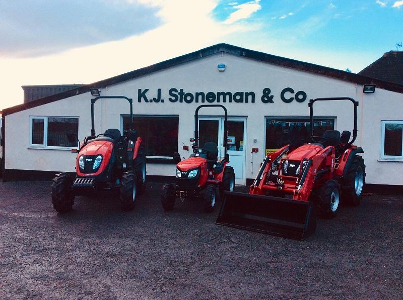 KJ Stoneman joins the TYM tractor dealer network