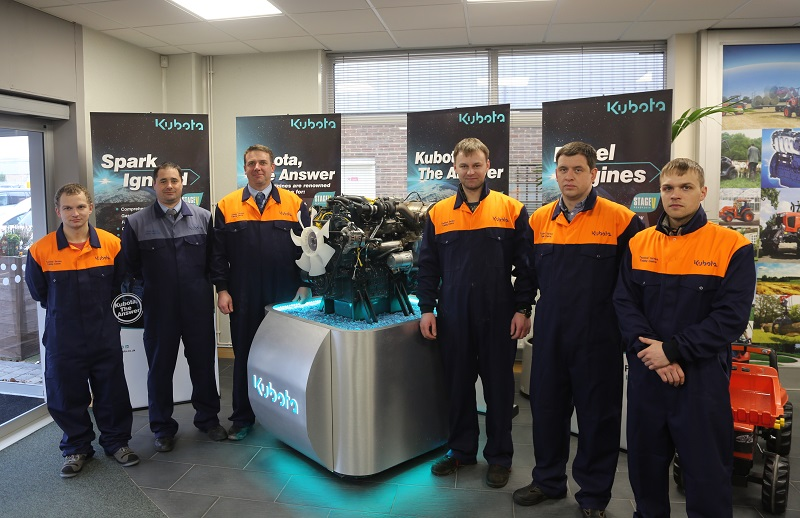 Kubota appoints new national engines distributor for Finland