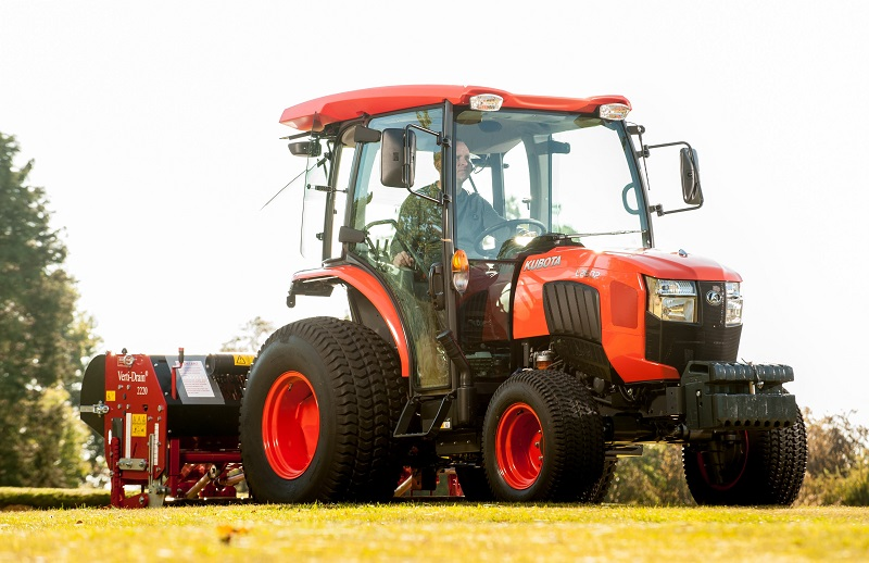 High performance machinery on display from Kubota