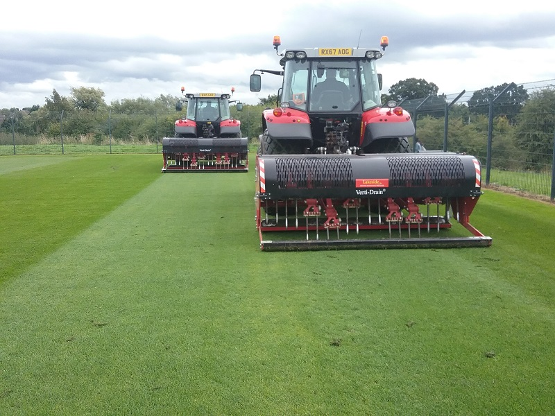 Contractor sees steady business growth with Redexim Verti-Drains