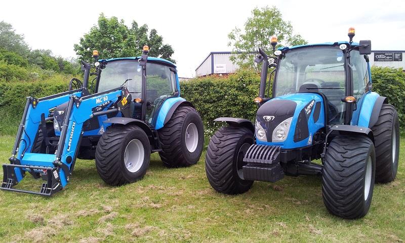 Landini tractors highlight turf capabilities
