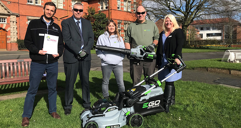 EGO partners with Lantra to deliver battery-powered training courses