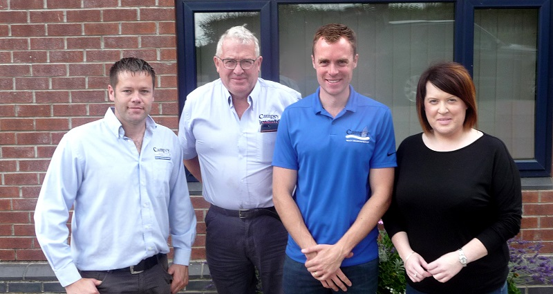 New directors of Campey Turf Care Systems