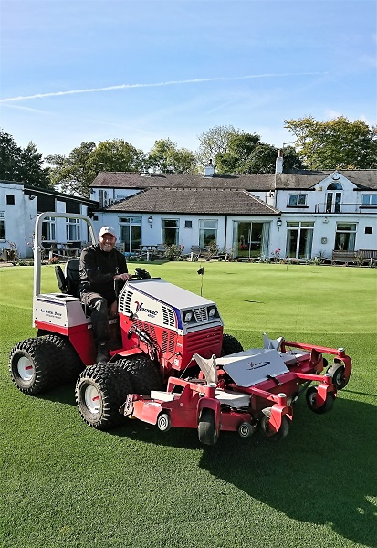 Lees Hall GC purchases a Ventrac 4500