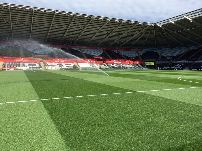 Johnsons Premier mixtures give Liberty Stadium the edge with renovation