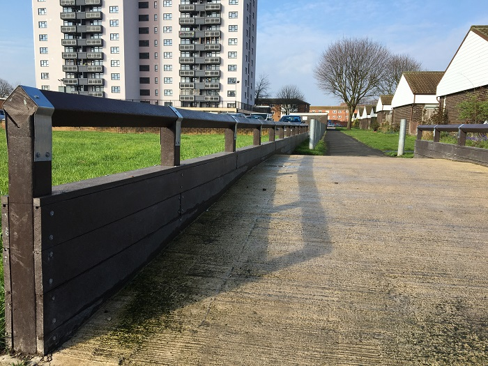 Innovative plastic flood barriers provide 'Ring of Steel'
