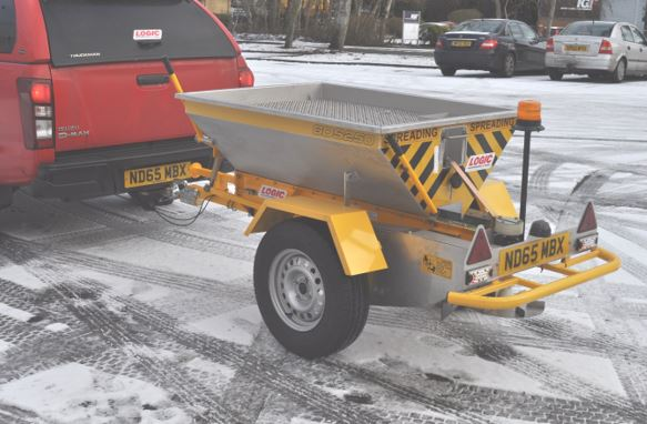 Logic GDS250R Salt Spreader