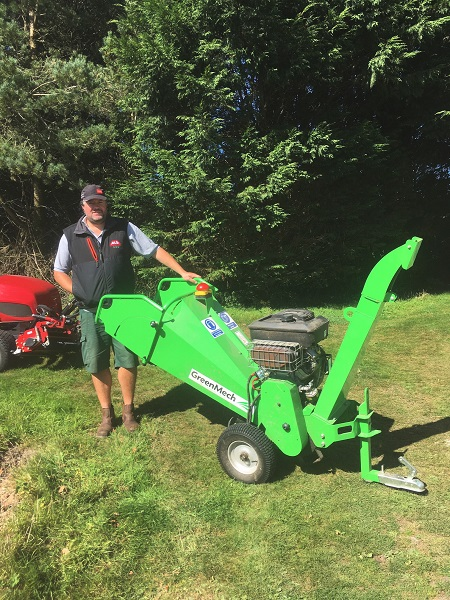 Looe GC tackles storm damage with the help of GreenMech