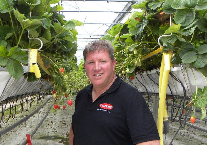 Innovative biofungicide showcased at Fruit Focus