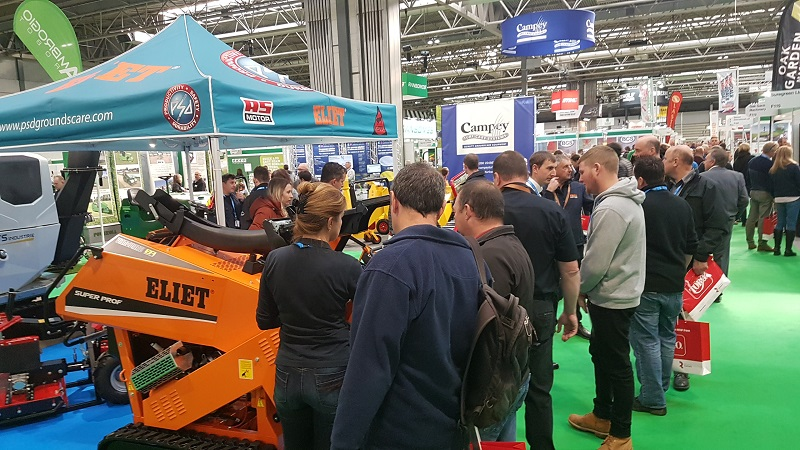 Successful product showcase from PSD Groundscare