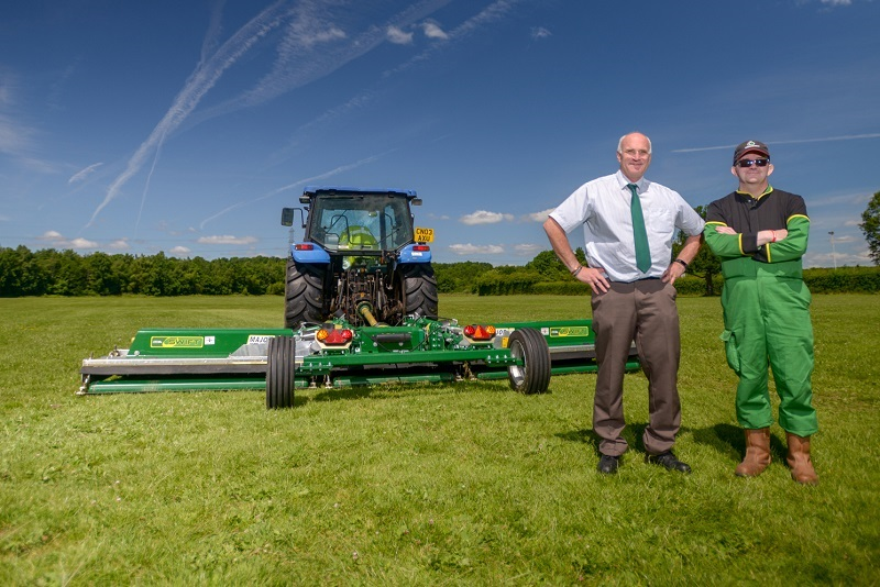New version of the popular Major Swift roller mower to debut at SALTEX