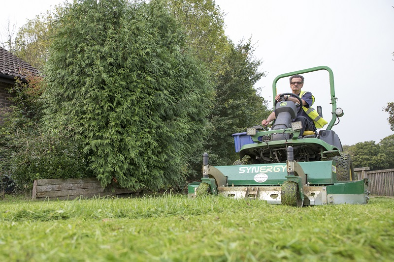 Major Synergy assists in maintenance of two million square metres of grass