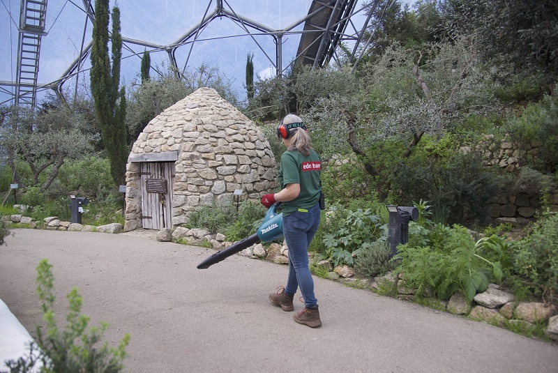 Makita is helping to power the Eden Project