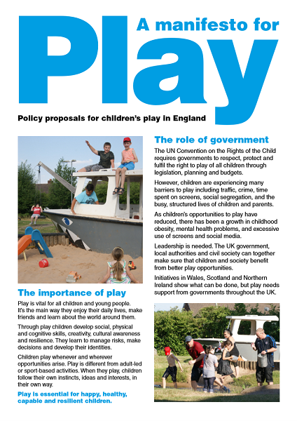 A manifesto for play