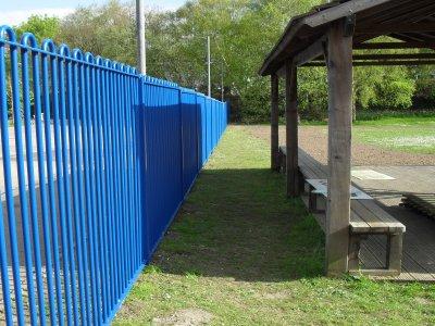 Manor Primary School Railings in Wolverhampton