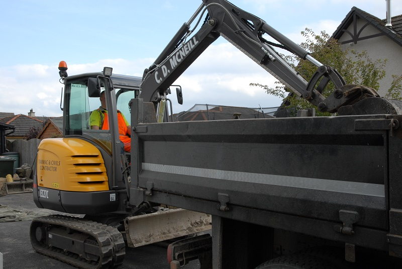 C D McNeill purchases a fourth Volvo EC27C