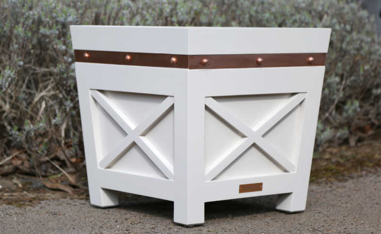 Stunning handcrafted planters designed to last with MEDITE TRICOYA EXTREME