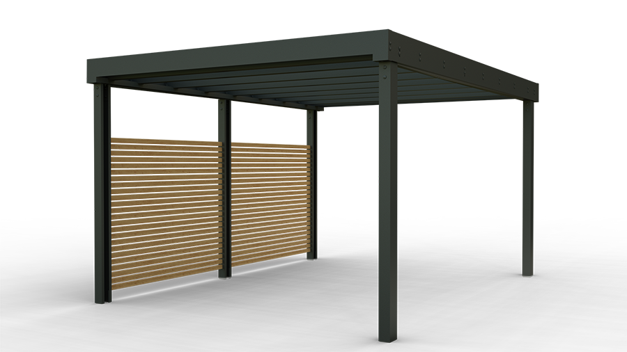 Contemporary carports and shelters launch in the UK market