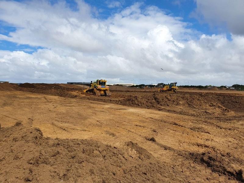 STRI starts Blackpool Airport sports pitch complex