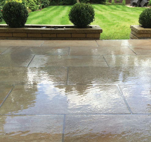 Fine porcelain pointing made easy with vdw Epoxy Paving Grout