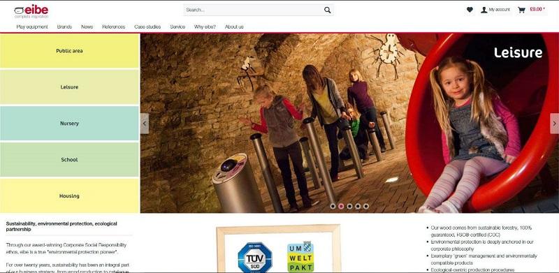 eibe unveils new website