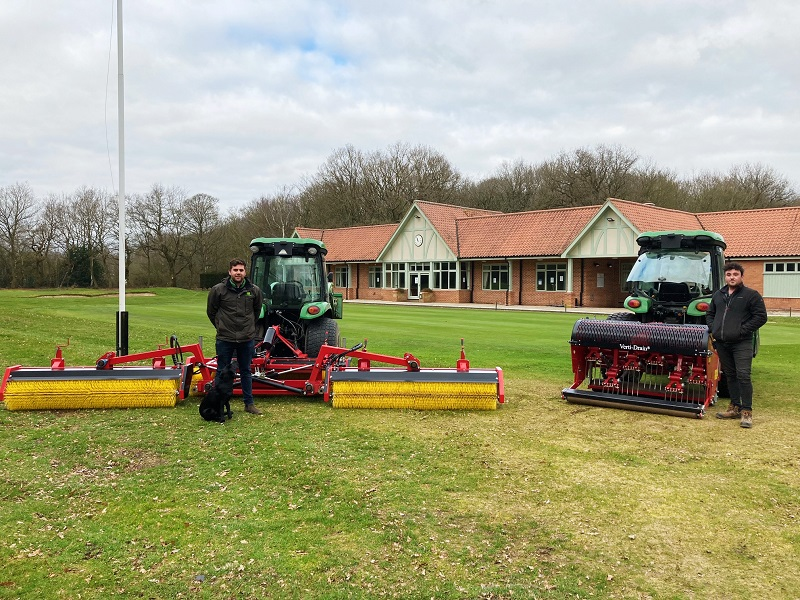 Six-metre wide Top-Brush becomes Newark's weapon in the fight against worm casts