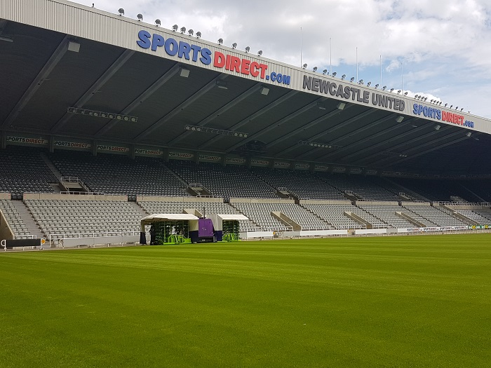 Newcastle boasts best pitch in 15 years with MJ Abbott