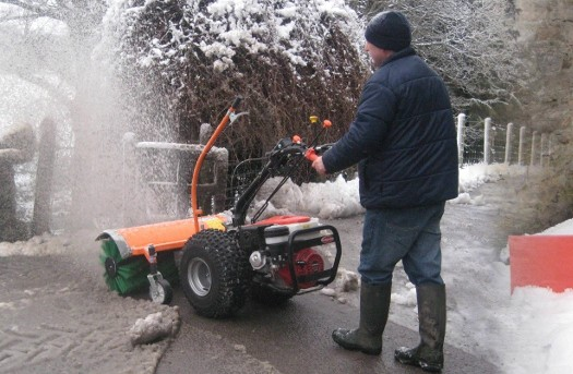 EASY SNOW CLEARANCE FROM CTM GOLDONI