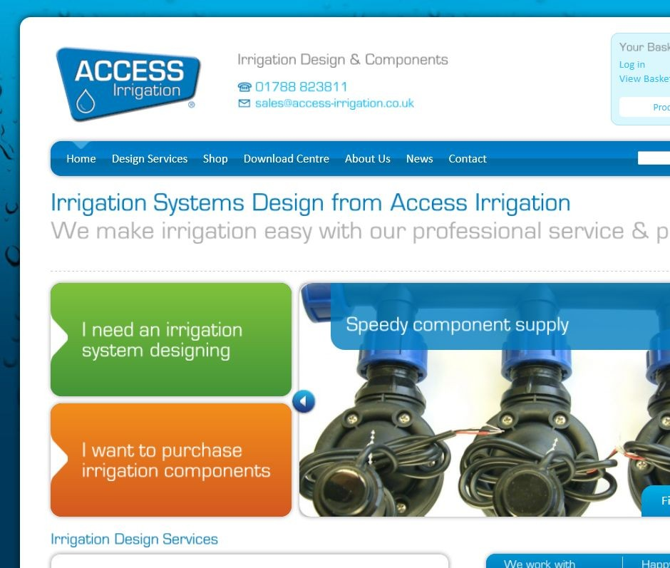 Access Irrigation launches new website