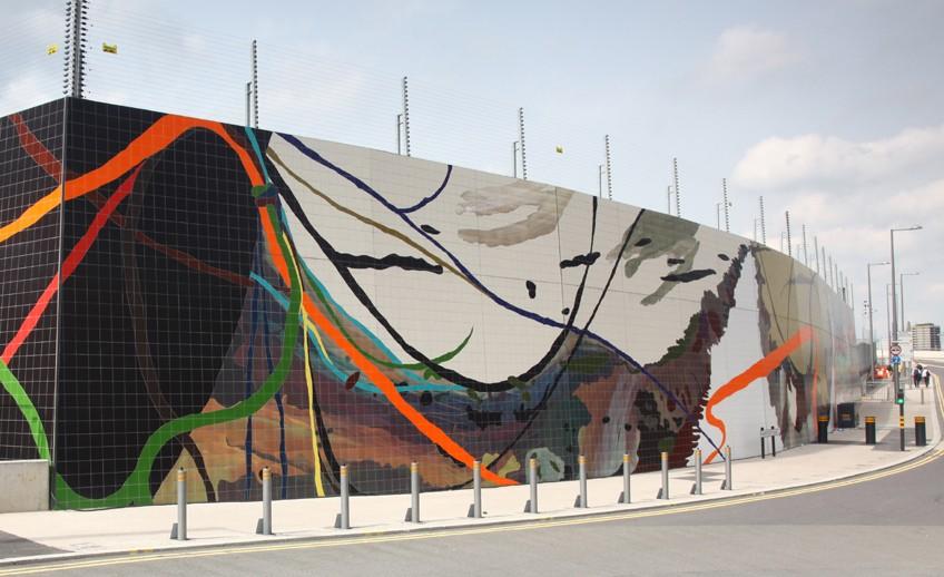 Tile murals create an impressive legacy