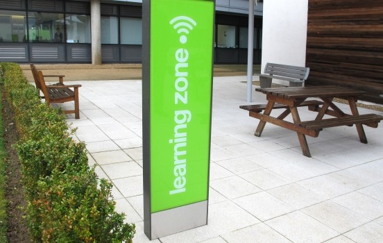 DMA Signs completes first phase of new signage project at university
