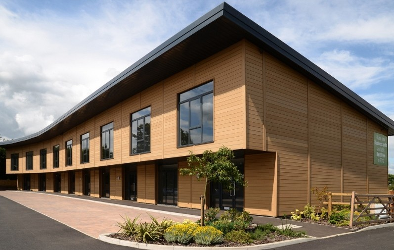 Eco-friendly Dura cladding is ideal for new and refurbishment projects