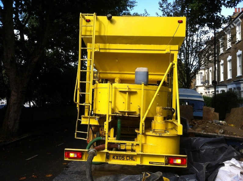 New unit for all in one concrete delivery, mixing and pumping