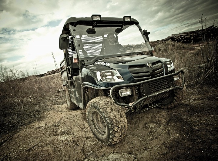 Cushman introduces new 4x4 utility vehicle