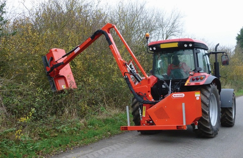 New range of hedge cutters includes model for use in narrow lanes