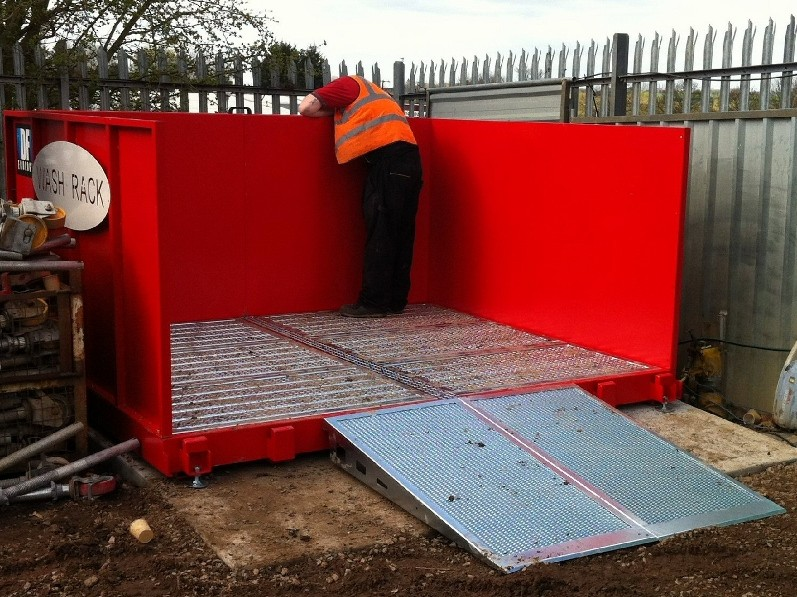 Travis Perkins cleans up with a Wash Rack