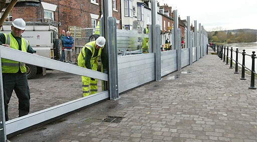 Flood defences get green light