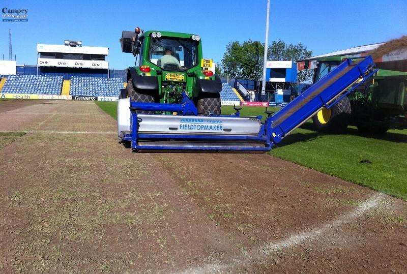 Campey Imants becomes an ESSMA stadium partner for pitch management