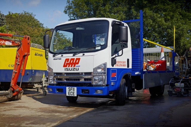 Great names, great solutions from Isuzu Truck at CV Show