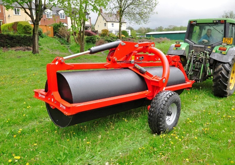 ROTA-ROLL flattens with innovative tow-and-go roller