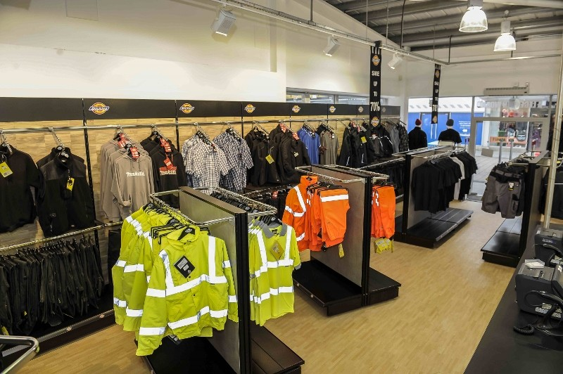 Dickies' new-look store opens
