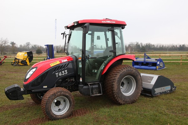The TYM compact tractor range from Lely