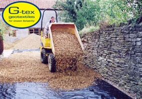 G-tex Geotextiles Chosen by Professionals for Unseen Reliability