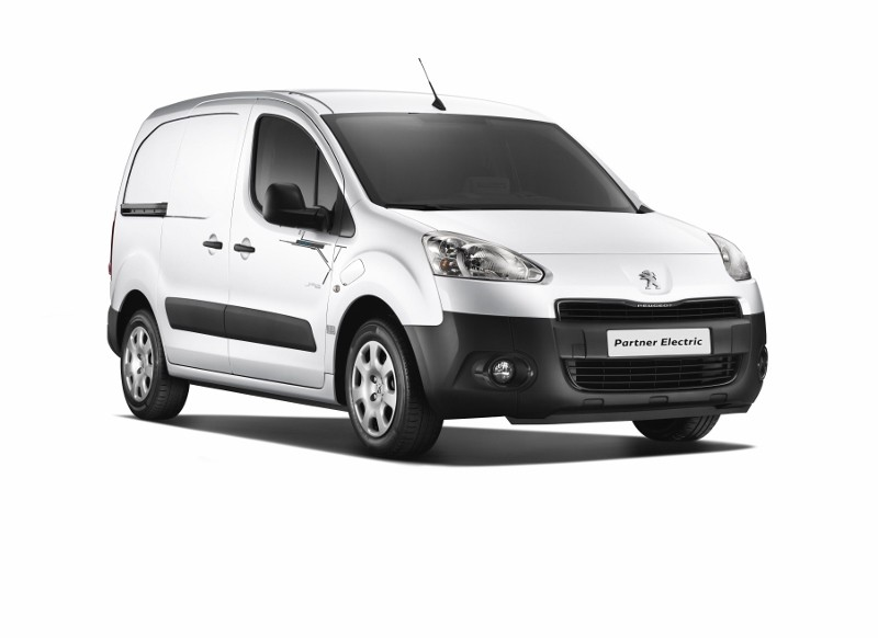 New Peugeot Partner electric van unveiled